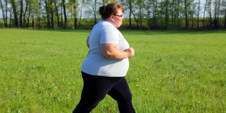 Wanita Gemuk Cuma Boleh Olahraga 1 Jam Dalam